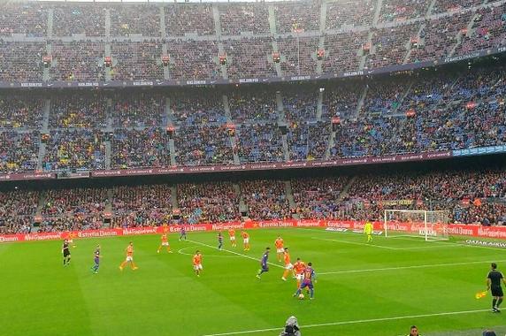 Carton du Barça et but de Mascherano (7-1) ! - Fc-Barcelone.com