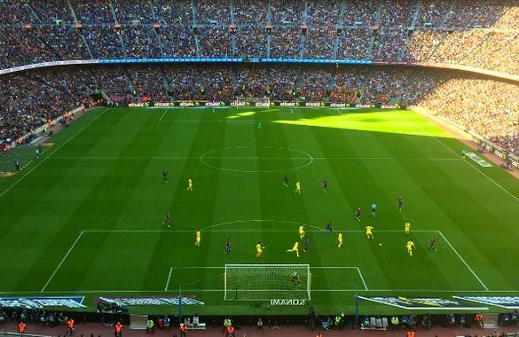 Le Barça reste dans la course - Fc-Barcelone.com