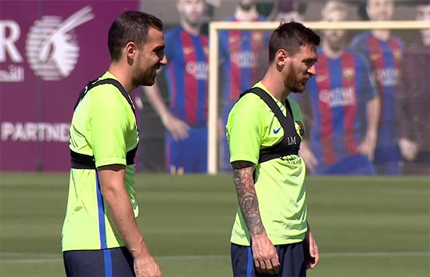 Le Barça s'entraîne pour la finale - Fc-Barcelone.com