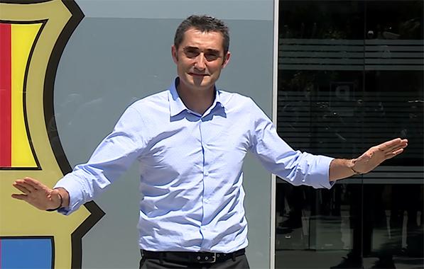 Valverde est arrivé à Barcelone - Fc-Barcelone.com