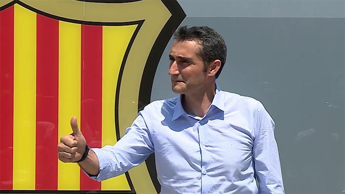 Valverde a signé son contrat - Fc-Barcelone.com