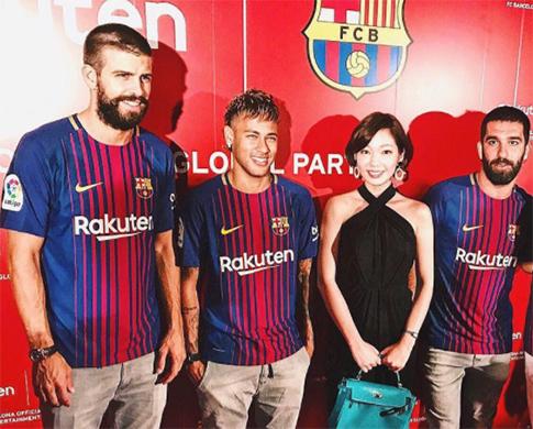 Le Barça en promo au Japon - Fc-Barcelone.com