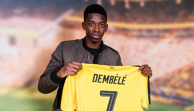 Officiel : Accord Barça-Dortmund pour Dembélé - Fc-Barcelone.com