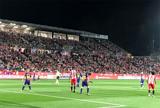 Le Barça gagne son premier derby à Gérone