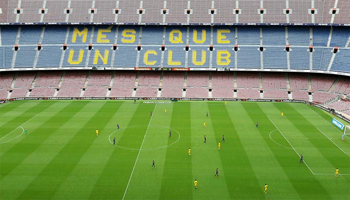 Sans public, le Barça gagne 3-0 contre Las Palmas - Fc-Barcelone.com