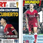145 millions d'euros pour Coutinho - Fc-Barcelone.com