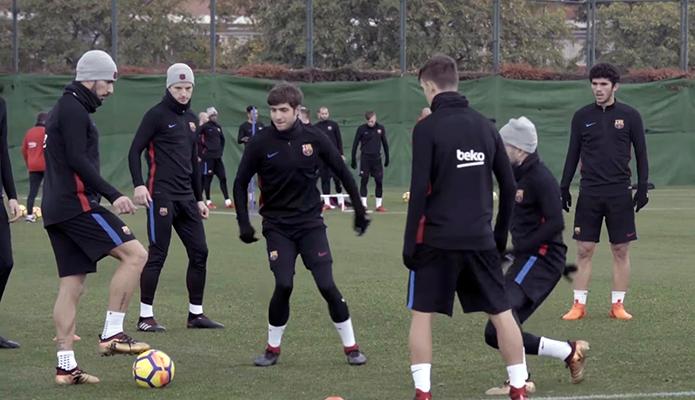 Entraînement sans Ter Stegen - Fc-Barcelone.com