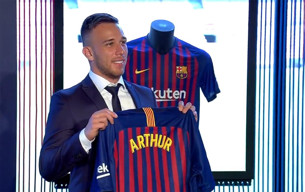 Arthur, la nouvelle pépite Blaugrana - Fc-Barcelone.com