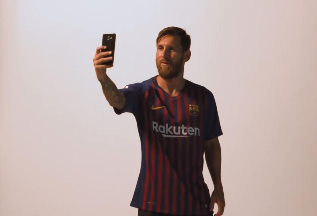 Séance photos pour les joueurs - Fc-Barcelone.com