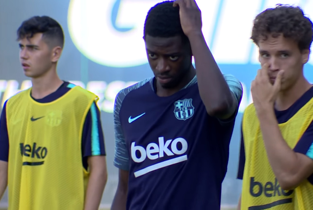 Dembélé : blessure et polémique - Fc-Barcelone.com