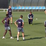 Les joueurs préparent le Clasico - Fc-Barcelone.com
