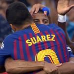 Suarez : «On a réalisé un grand travail collectif» - Fc-Barcelone.com
