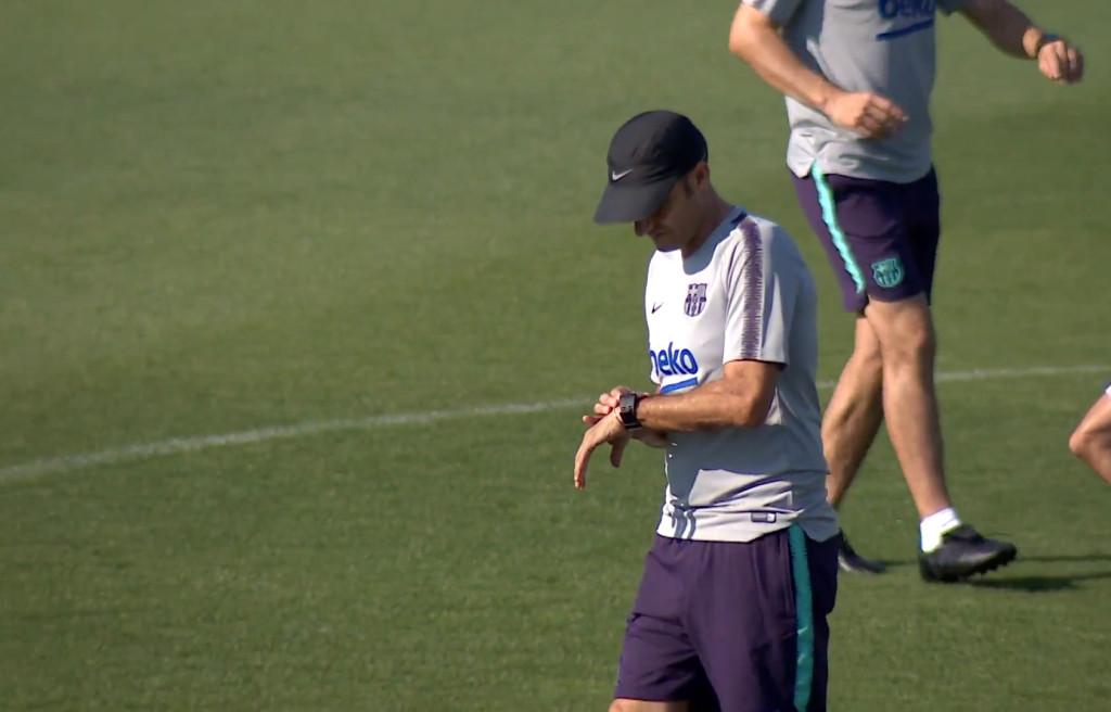 Le «11» de Valverde pour le Clasico - Fc-Barcelone.com