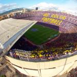 L'hymne du Barça lors du Clasico - Fc-Barcelone.com