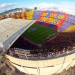 Superbe mosaïque au Camp Nou - Fc-Barcelone.com