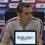 La conférence de presse de Valverde - Fc-Barcelone.com