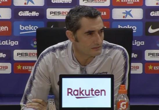 Valverde : «C'est un résultat qui leur fait mal» - Fc-Barcelone.com