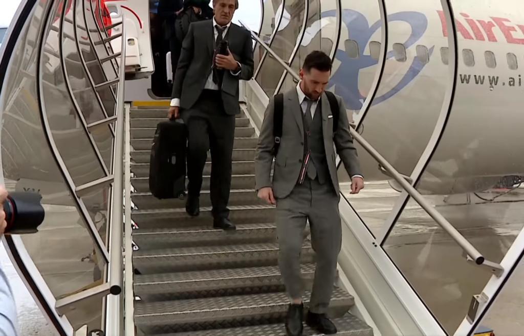 Messi voyage à Milan - Fc-Barcelone.com