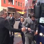 Piqué se prend un rétroviseur à Milan - Fc-Barcelone.com