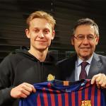 Frenkie de Jong au Barça la saison prochaine - Fc-Barcelone.com