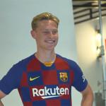 Première journée pour Frenkie de Jong - Fc-Barcelone.com