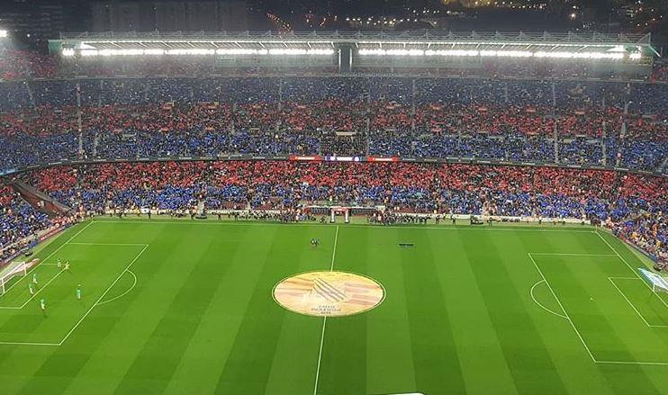 Clasico : La mosaique du Camp Nou - Fc-Barcelone.com