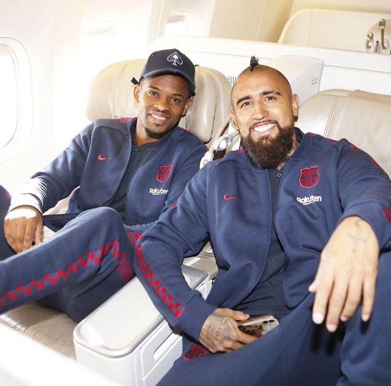 Semedo et Vidal, en route pour la Supercoupe - Fc-Barcelone.com